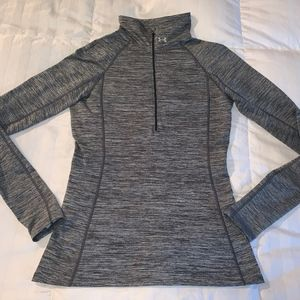 Under Armour - Women's Cold Gear zip Top sz M